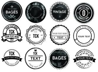 20 Vector Badge Logo Icons