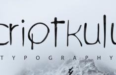 Scriptkulus Typeface