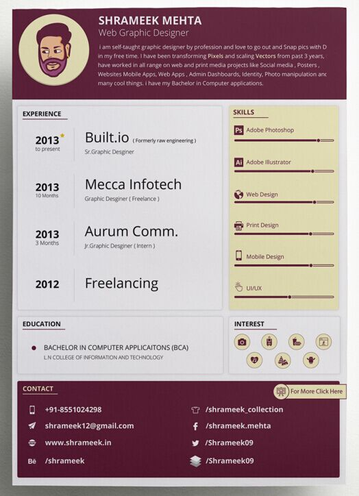 Free clean resume cv vector templates 3 colors titanui clean resume cv vector templates 3 colors yelopaper Images