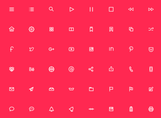 200 Line & Circle Web Icons Vector