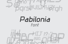 Pabilonia Font