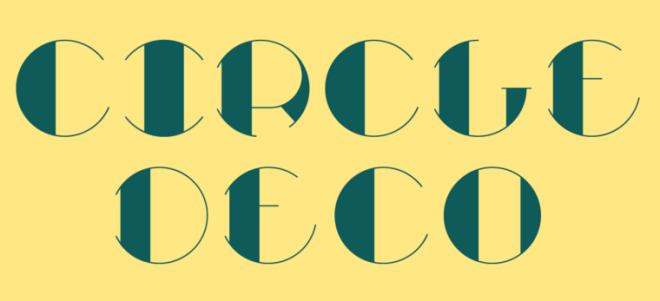 Circle Deco Font