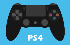 Flat Play Station Controllers