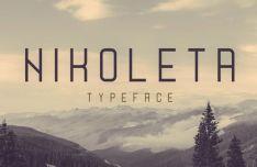 Nikoleta Display Typeface