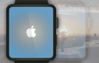 Flat Apple Watch Vector Template