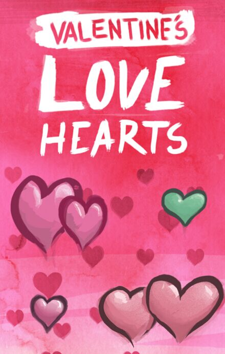 Valentine's Love Hearts PSD