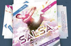 Customizable Dance Flyer PSD Template