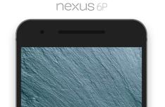 Flat Nexus 6P Mockup PSD