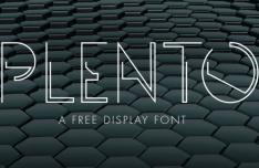 PLENTO Typeface