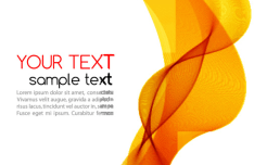 Modern Curved Lines Vector Background #8