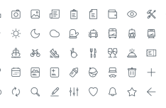 50 Thin Line Web Icons (AI+Sketch)