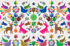 6 Colorful Floral & Animal Vector Patterns