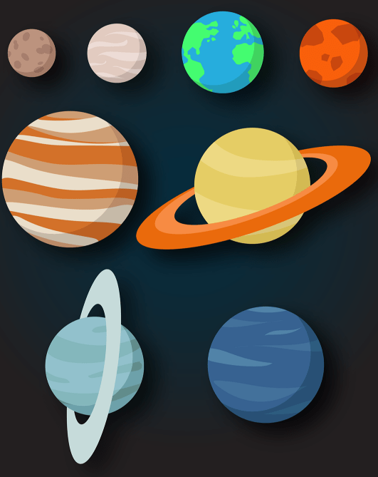solar system vector free download - photo #8