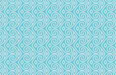 Seamless Blue Vector Pattern