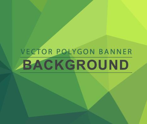 7 Polygon Backgrounds PSD