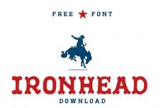 IronHead Font