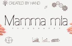 Mamma Mia Typeface