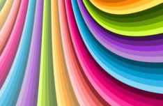 Colorful Spiral Vector Background #5