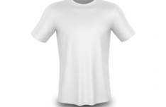 Realistic Editable T-shirt PSD Mockup