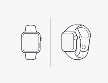 minimal-apple-watch-vector-template