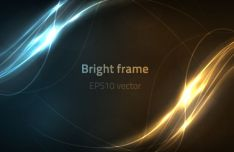 bright-frame-vector-background