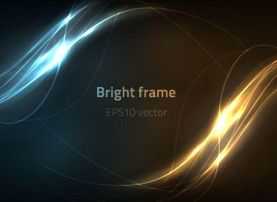 bright-frame-vector-background