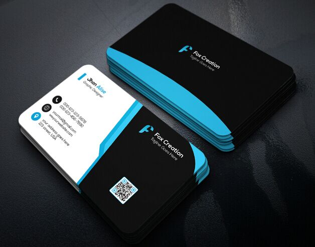 free creative business card design psd titanui