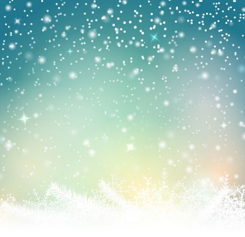 bokeh-snowflake-vector-background-5