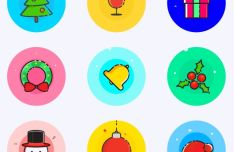 9-christmas-vector-icons