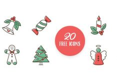 20-elegant-christmas-icons-svg