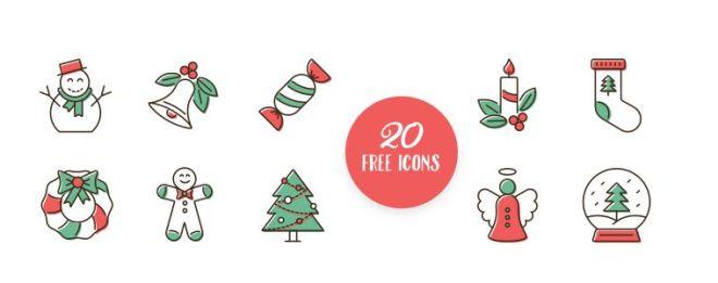 20-elegant-christmas-icons-svg