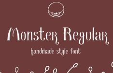 monster-handmade-font