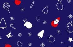 20-christmas-line-icons-vector