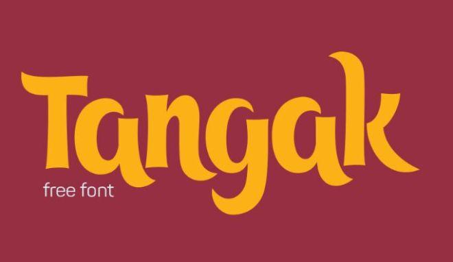 tangak-typeface