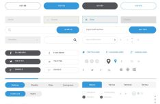 minimal-clean-wireframe-ui-kit