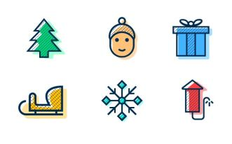 6-minimal-glitch-winter-holiday-vector-icons