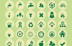 54-eco-green-power-vector-icons
