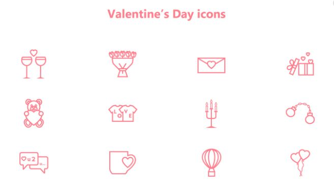 's Day Vector Icons
