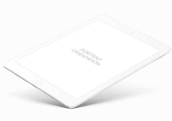High Solution iPad Pro Mockup PSD