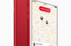 iPhone 7 (PRODUCT) RED Special Edition PSD Mockup