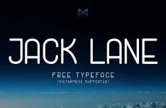 Jack Lane Rounded Typeface
