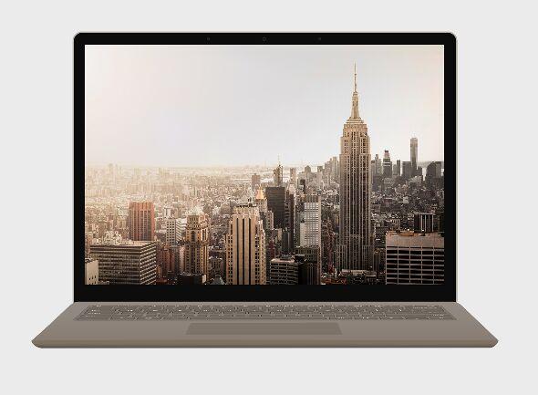 Microsoft Surface Laptop Mockup PSD