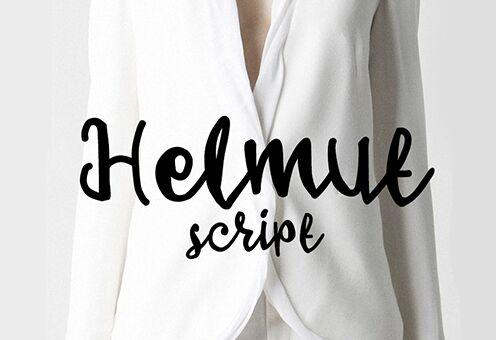 Helmut Script Font