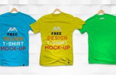 T-shirt PSD Mockup (Front & Back)