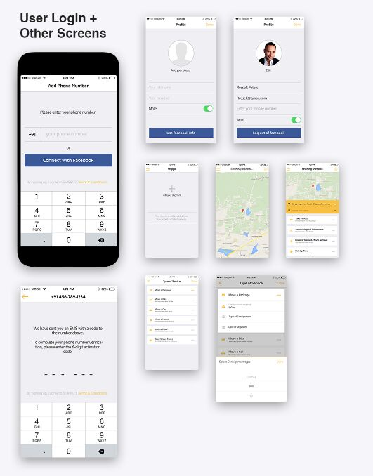 Shippo UI Kit For iOS