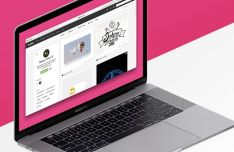 15-inch MacBook Pro PSD Mockup