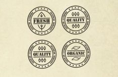 Fresh Quality Organic Native Badges