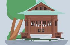 Ritual Vector Illustration