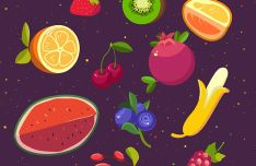 Berry & Fruit Vector Icons