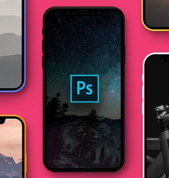 iPhone 8 Concept Mockup PSD